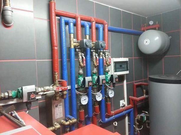 Hydraulik, usługi hydrauliczne, pompy ciepła rekuperacja