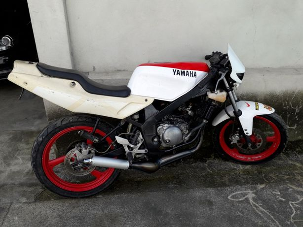 Yamaha TZR 50R 1997 de matricula branca