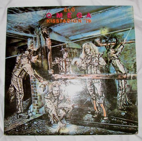 Album dwupłytowy zespołu Elo Omega Kisstadion '79