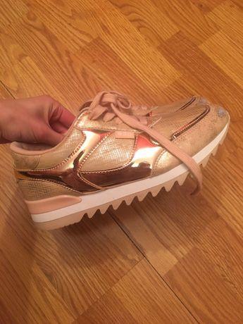 buty sportowe różowe 38 B3D