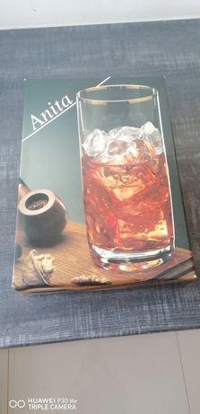Szklanki literatki Anita