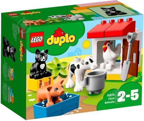 Новый конструктор LEGO Duplo Животные на ферме 10870 Харьков - изображение 1