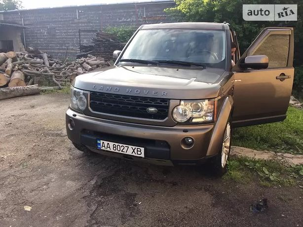 Land Rover Discovery HSE Luxury 2011