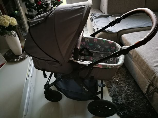 Wózek kinderkraft moov 3w1  +spacerówka parasolka kinderkraft gratis