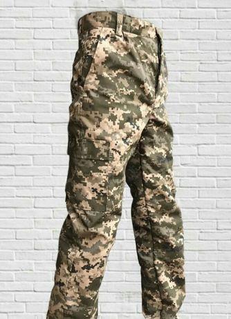 Зимние брюки штаны армейские Пиксель ВСУ мм-14 на Флисовымутеплителе