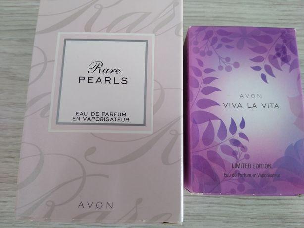 Avon rare pearls i viva la vita