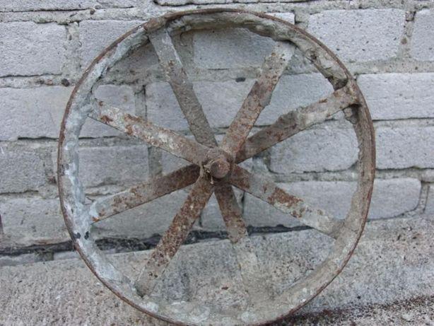 Stare koło od taczki Antyk! ...