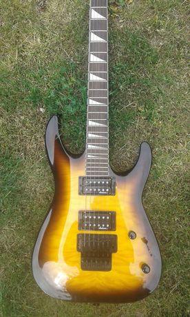 gitara elektryczna z wzmacniaczem