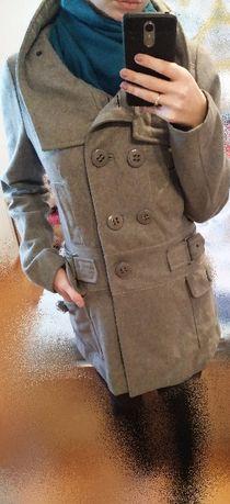 Płaszcz szary RESERVED
