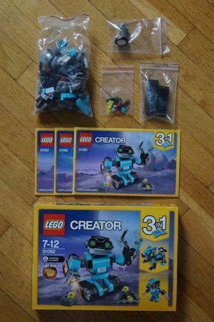 Lego Creator 31062 Робот со светящимся кубиком
