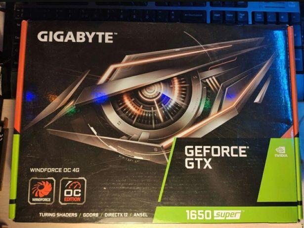 Продам видеокарту GTX 1650 SUPER 4GB GIGABYTE