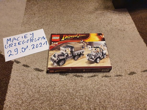 Lego Indiana Jones 7622