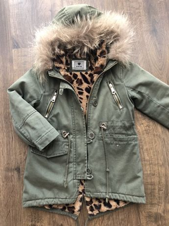 Парка демисезонная куртка 98 104 110 см на 3 4 года