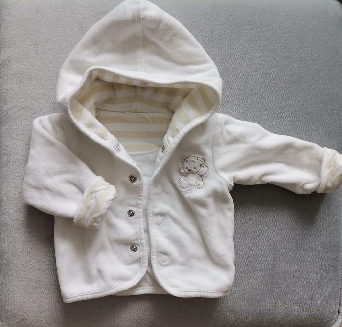 Biała bluza z misiem Tychy - image 1
