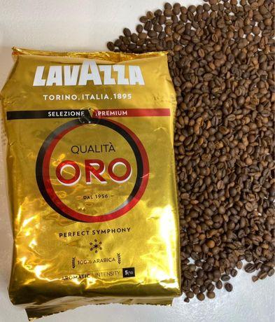 Кофе зерновой Лавазза(Lavazza Qulita Oro 1 кг)