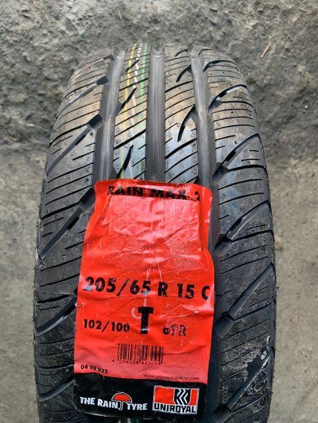 Нові шини 205/65R15C  102/100T UNIROYAL RainMax 2 (наявність 4шт)
