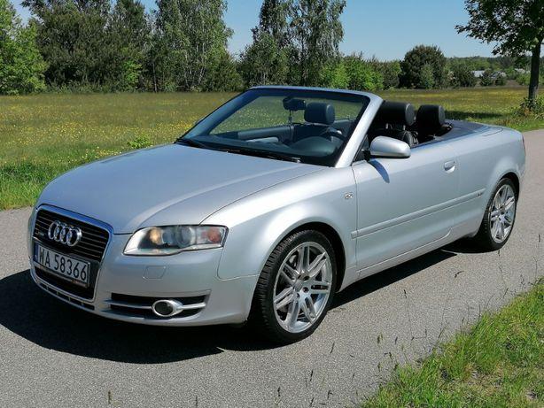 Audi A4 S-line Kabrio 2.0t 200km 2009r 90 tys km. Zamiana
