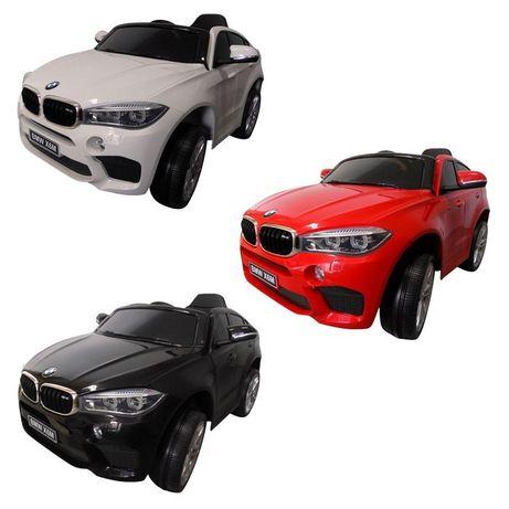 BMW X6M Auto Na Akumulator Koła EVA Miękkie Siedzenie Od 2-7 Lat Hit