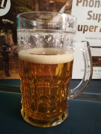 Zestaw piwosza prezent dla mężczyzny Kufel Pas do butelek