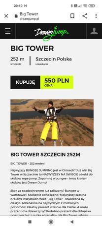 Dream jump skok! Szczecin - 252m wysokości!
