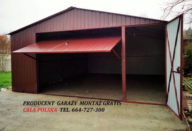 Garaż blaszany np. 4x5 4x6 + drzwi GARAŻE 4x7 5x6 Blaszak CAŁA POLSKA!