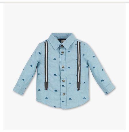 Рубашка на годик и два годика 80, 92