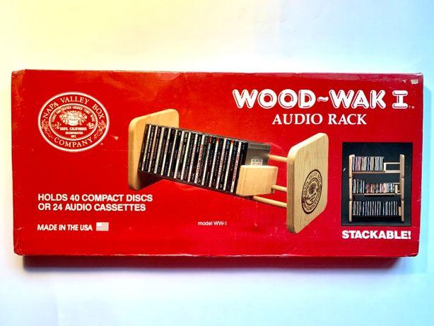 New!! NAPA Valley Box - винтажная стойка для кассет и CD
