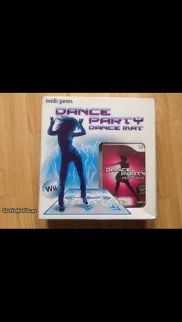 Wii Tapete e cd dance party