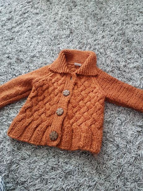 Sweterek Next dla dziewczynki 98