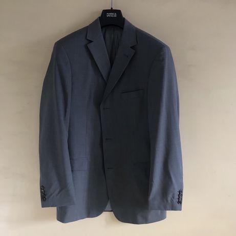 Пиджак (блейзер) Hugo Boss серого цвета