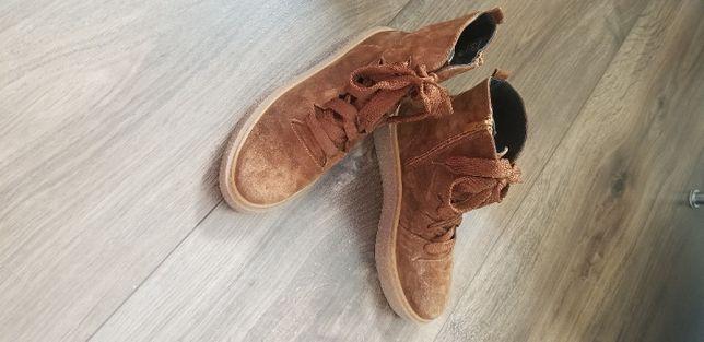 Buty skórzane Eric Michael