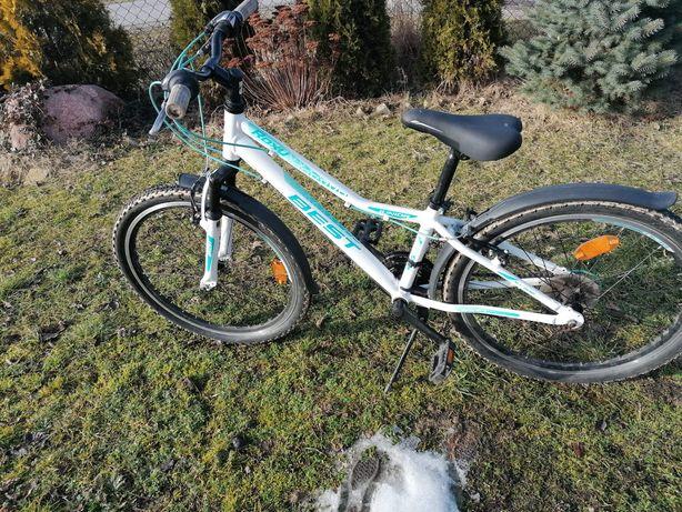 Rower 24 Best dla dziewczynki lub chłopca