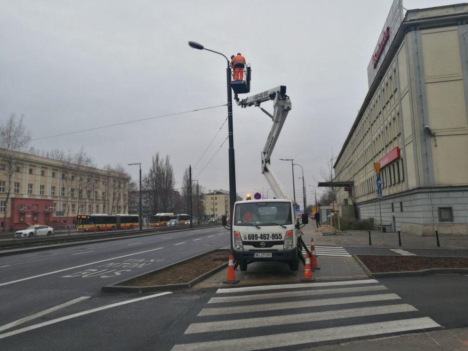 podnośnik koszowy 20m-wynajem Warszawa - image 1