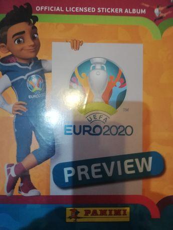 Naklejki Panini UEFA Euro 2020 Preview wersja 528 naklejek