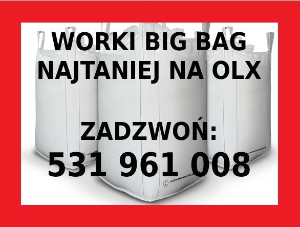 Worki BIG BAG z wkładem foliowym na kukurydze mieloną CCM