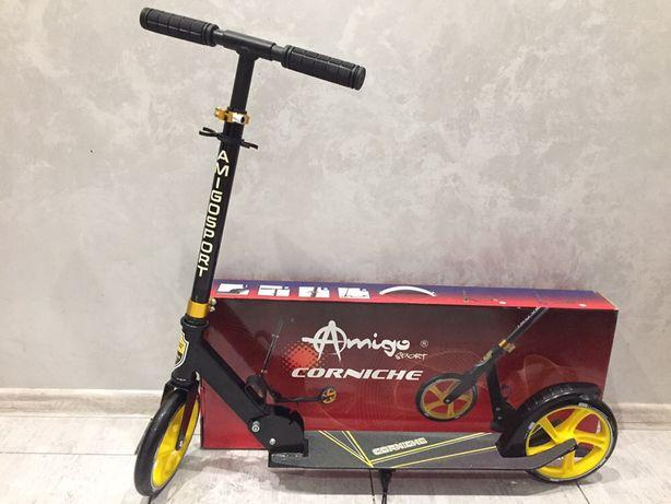 Новый складной самокат Amigo Sport CORNICHE