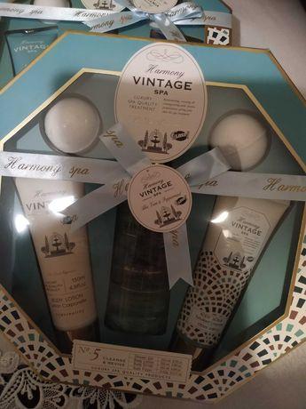 Harmony Vintage Spa Aloe vera & Mint. Zestaw kosmetyków damskich.