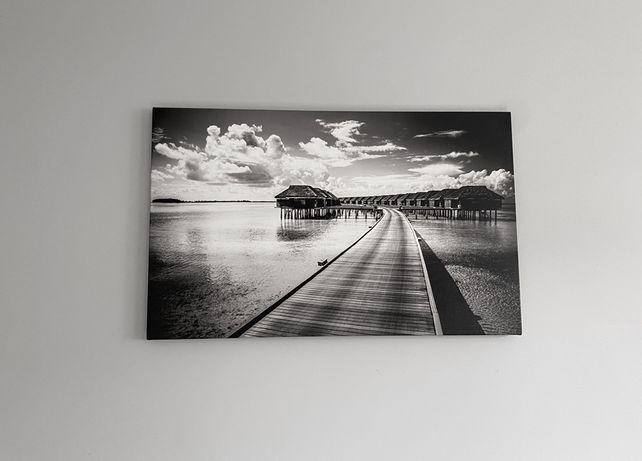 Obraz na ścianę czarno biały