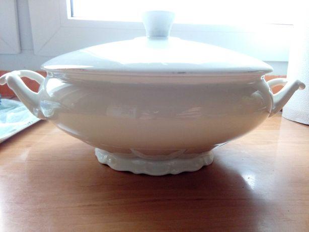 Nie prl waza C.Tielsch Walbrzych porcelana kwiaty