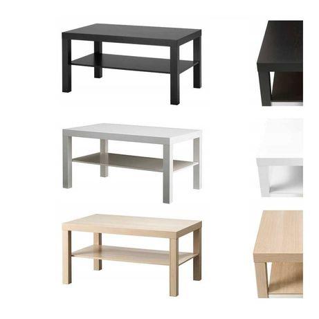 Стол с полкой 90х55х45 см IKEA детский журнальный кофейный