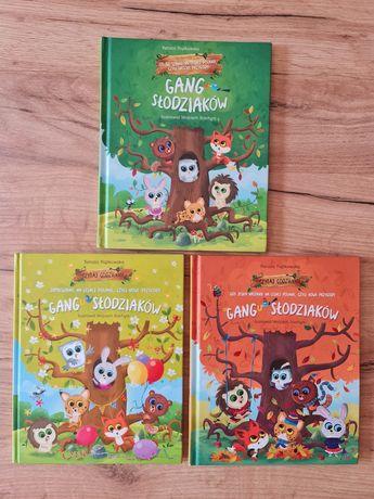 3 książki Gang Slodziaków z Biedronki stan idealny