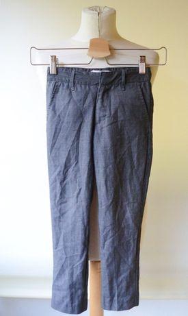 Spodnie Garnitur Szare Paski 116 cm 6 lat Name It Garnitur Zara H&M
