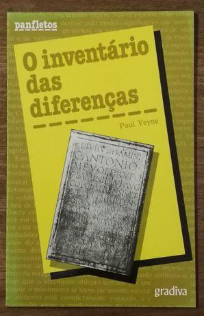 o inventário das diferenças, paul veyne, gradiva