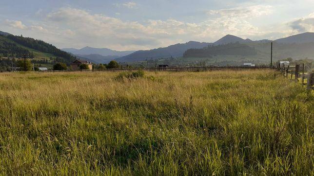 Продам земельну ділянку в Карпатах с. Ільці, Верховина.