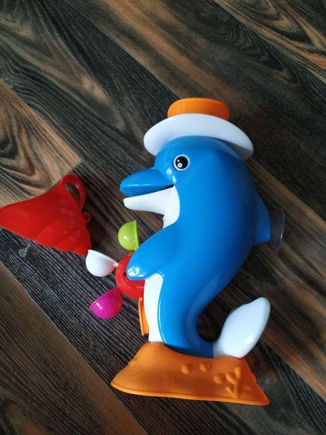 Дельфин для ванночки, игрушка для купания