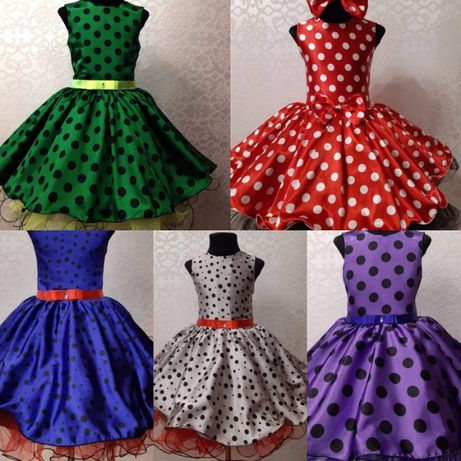 Стиляги детские нарядные платья в ретро стиле 60-х - 70-х