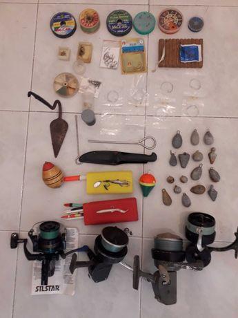 Canas, Carretos e material de pesca
