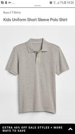 футболка поло GAP (оригинал)  100%котон детская. Новая с биркой