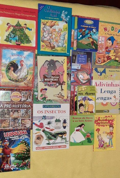 Coleção de Livros Infantis Santa Cruz/trindade E Sanjurge - imagem 1