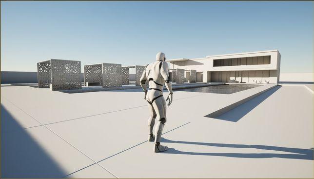Визуализация, анимация в игровом движке Unreal engine 4